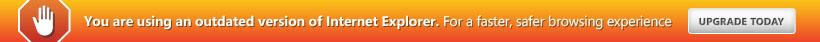 Attenzione!!! Stai usando una vecchia versione di browser, per migliorare la navigabilità scegli un browser aggiornato.