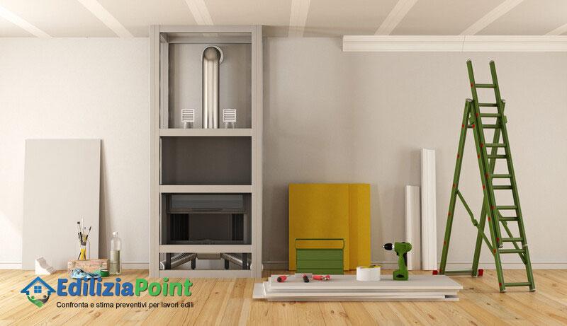 preventivi lavori cartongesso appartamento a San Martino in Pensilis